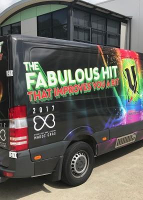 Big Van, Big Wrap