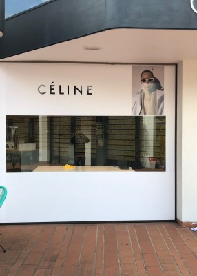 Window Graphics this morning in the Sydney Suburb of Double Bay