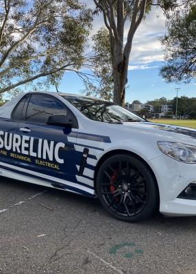 Surelinc's new ute: just branded!