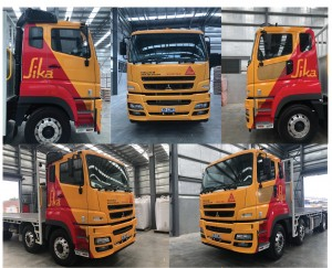 truck wrap lay up