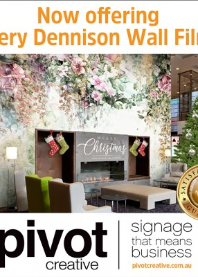 Now offering Avery Dennison Wall Films!