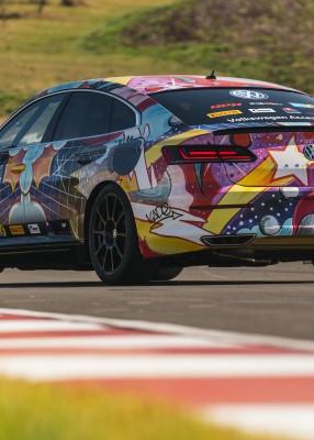 VW Art3on – Full Wrap using street art!!